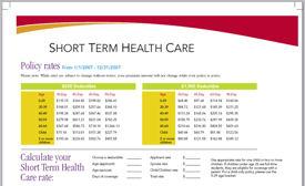 Short Term Health Insurance >> Short Term Health Insurance Free Medical Insurance Quotes